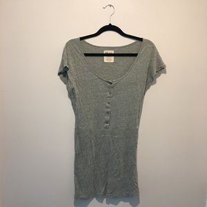 Volcom dress in a gray green color